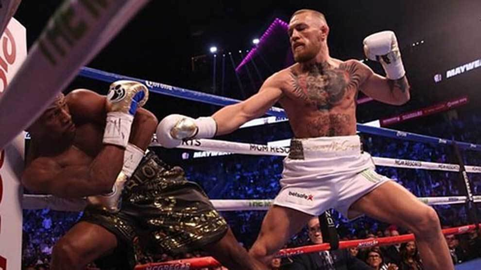 Conor McGregor one win away from fighting for a championship in Boxing