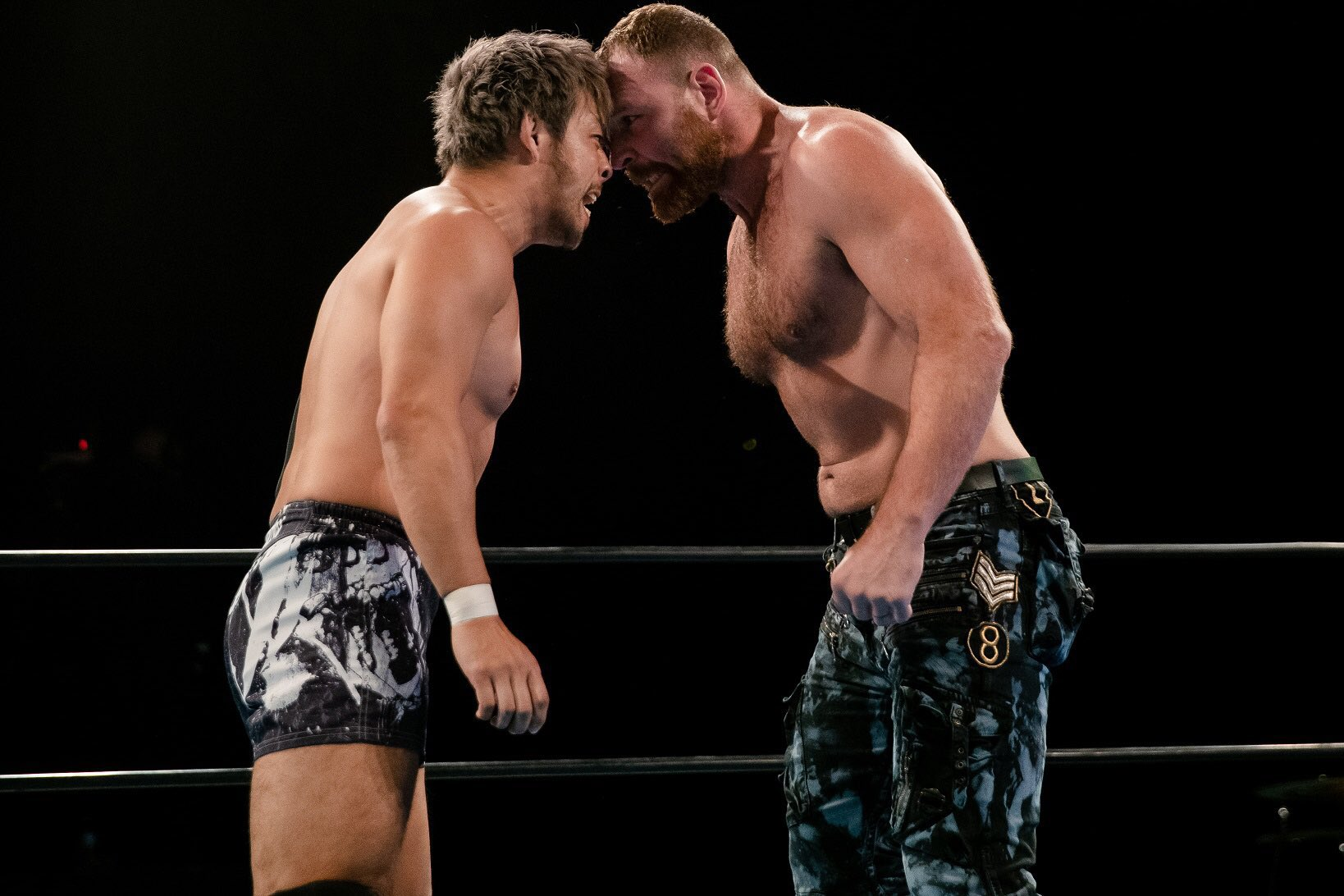 KENTA and Jon Moxley face off on NJPW Strong's January 29, 2021 episode - NJPW