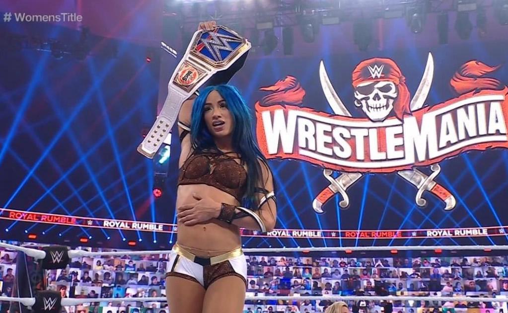 Sasha Banks, one step away from making history at Elimination Chamber 2021