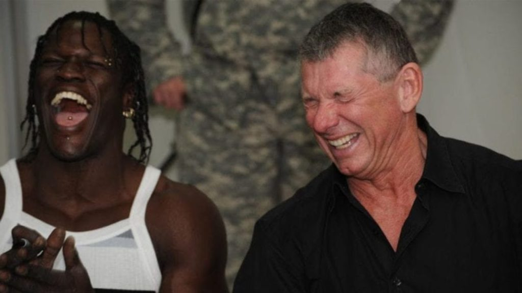 Vince McMahon has trusted R-Truth as a funny character