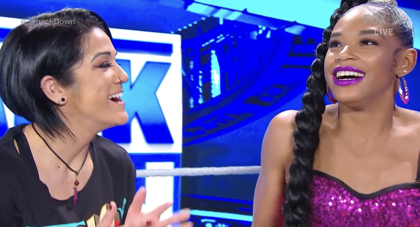 Bayley and Bianca Belair - SmackDown