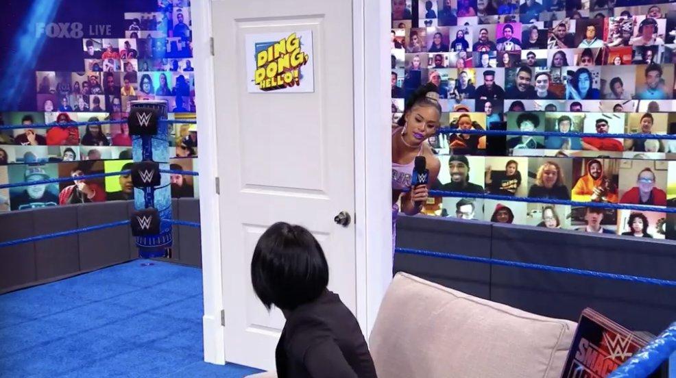 Bayley and Bianca Belair - SmackDown January 15, 2021