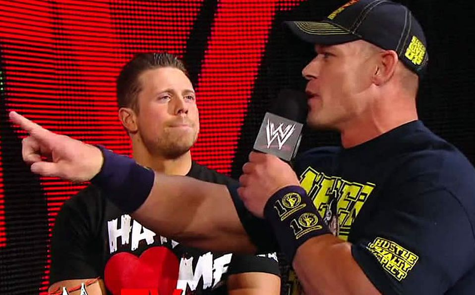 """The Miz: """"The one who has taught me the most in the ring is John Cena"""""""