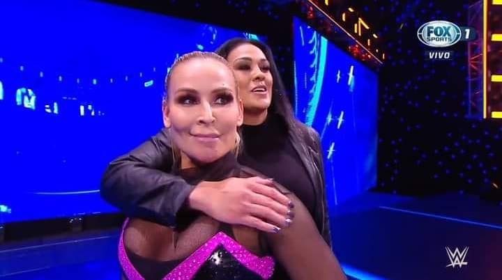 Natalya and Tamina - SmackDown January 15, 2021