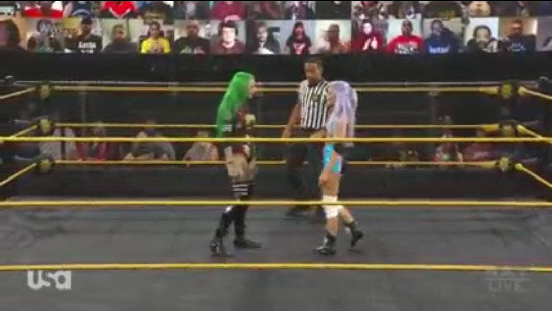 Shotzi Blackheart vs.  Candice LeRae - NXT January 13, 2021