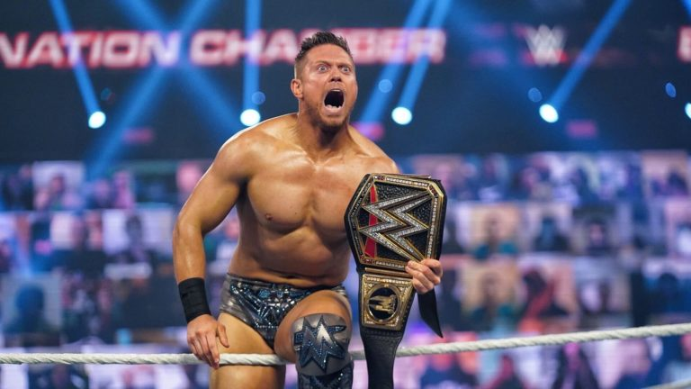 The Miz as WWE Champion in the PPV Elimination Chamber 2021 (02/21/2021) / WWE / WWE.com