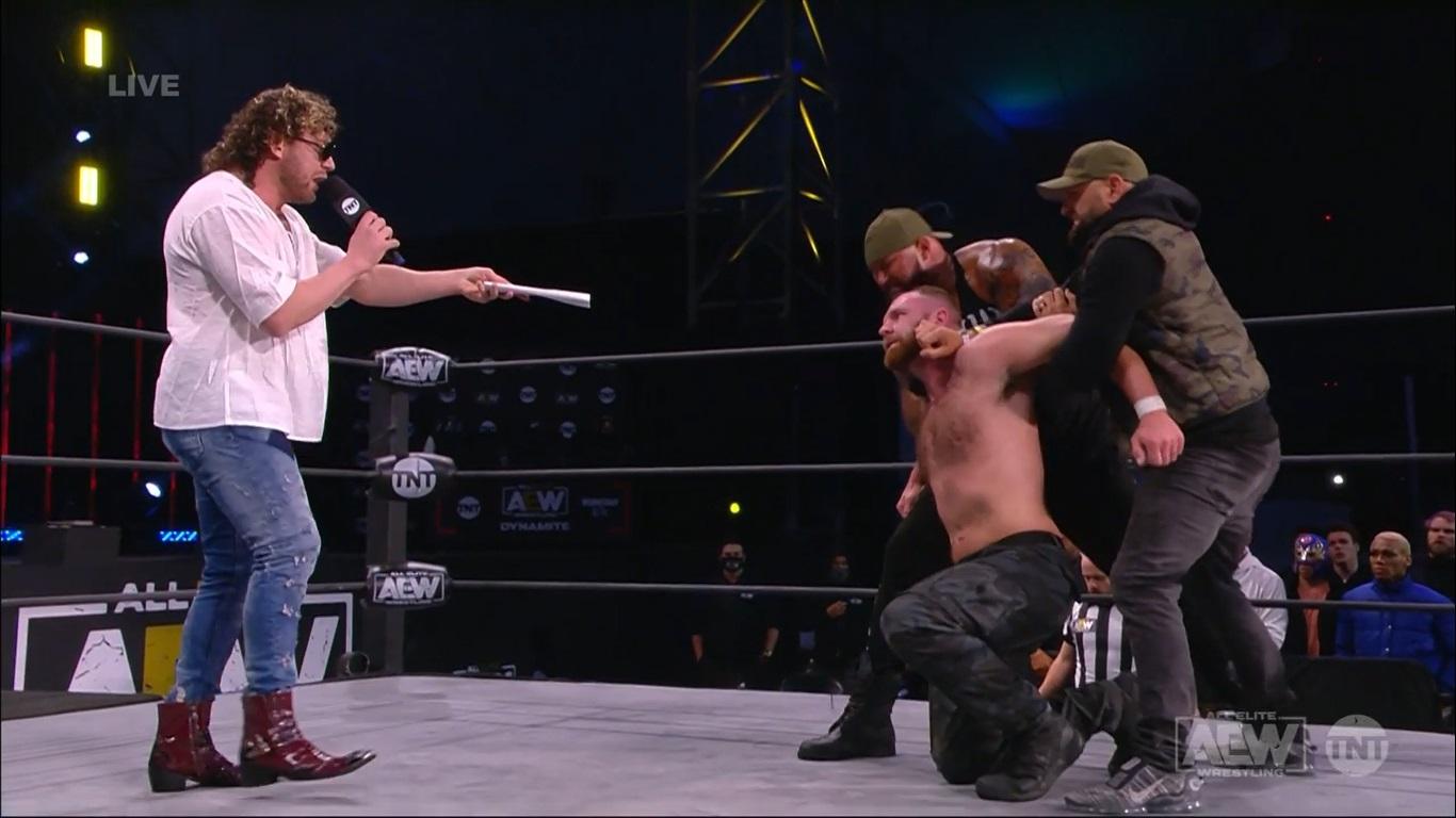 Kenny Omega and Jon Moxley - AEW Dynamite February 17, 2021