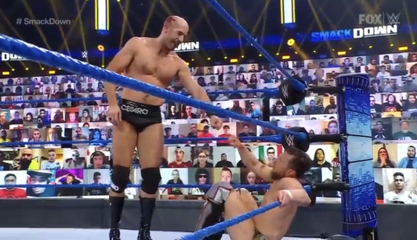 Cesaro & Daniel Bryan Smackdown 5 février 2021 3