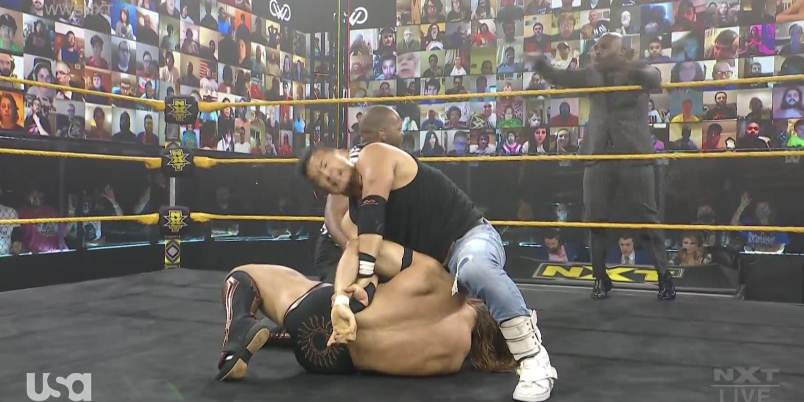 Kushida vs Tyler Rust - NXT February 17, 2021
