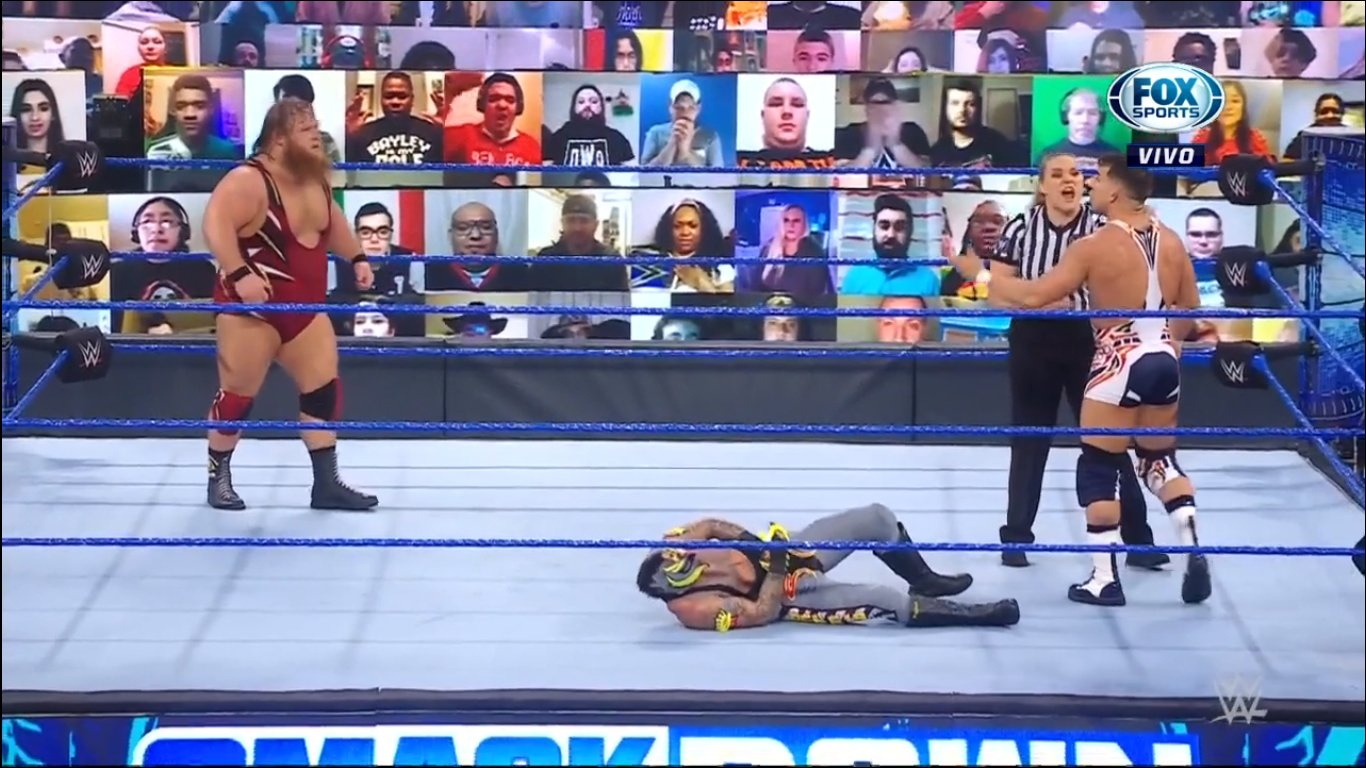 Otis and Chad Gable - SmackDown February 19, 2021