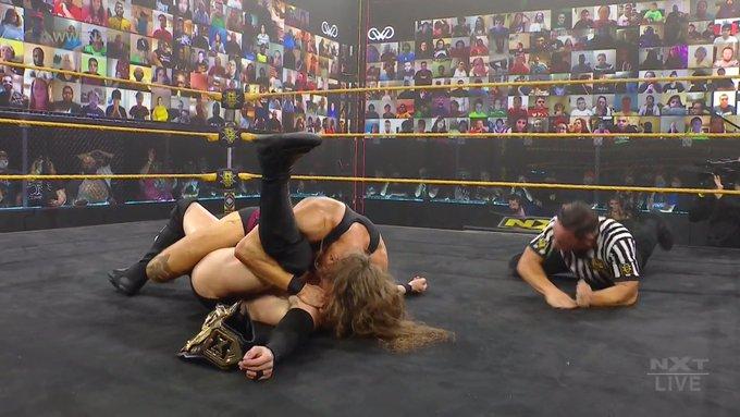 Pete Dunne and Finn Balor - NXT February 17, 2021