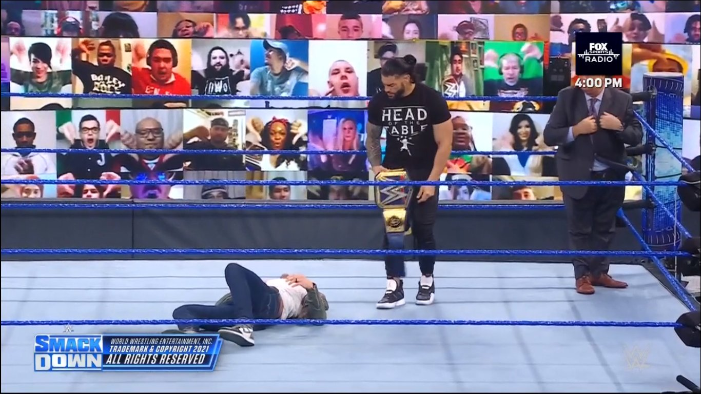 Roman Reigns and Edge - SmackDown February 19, 2021