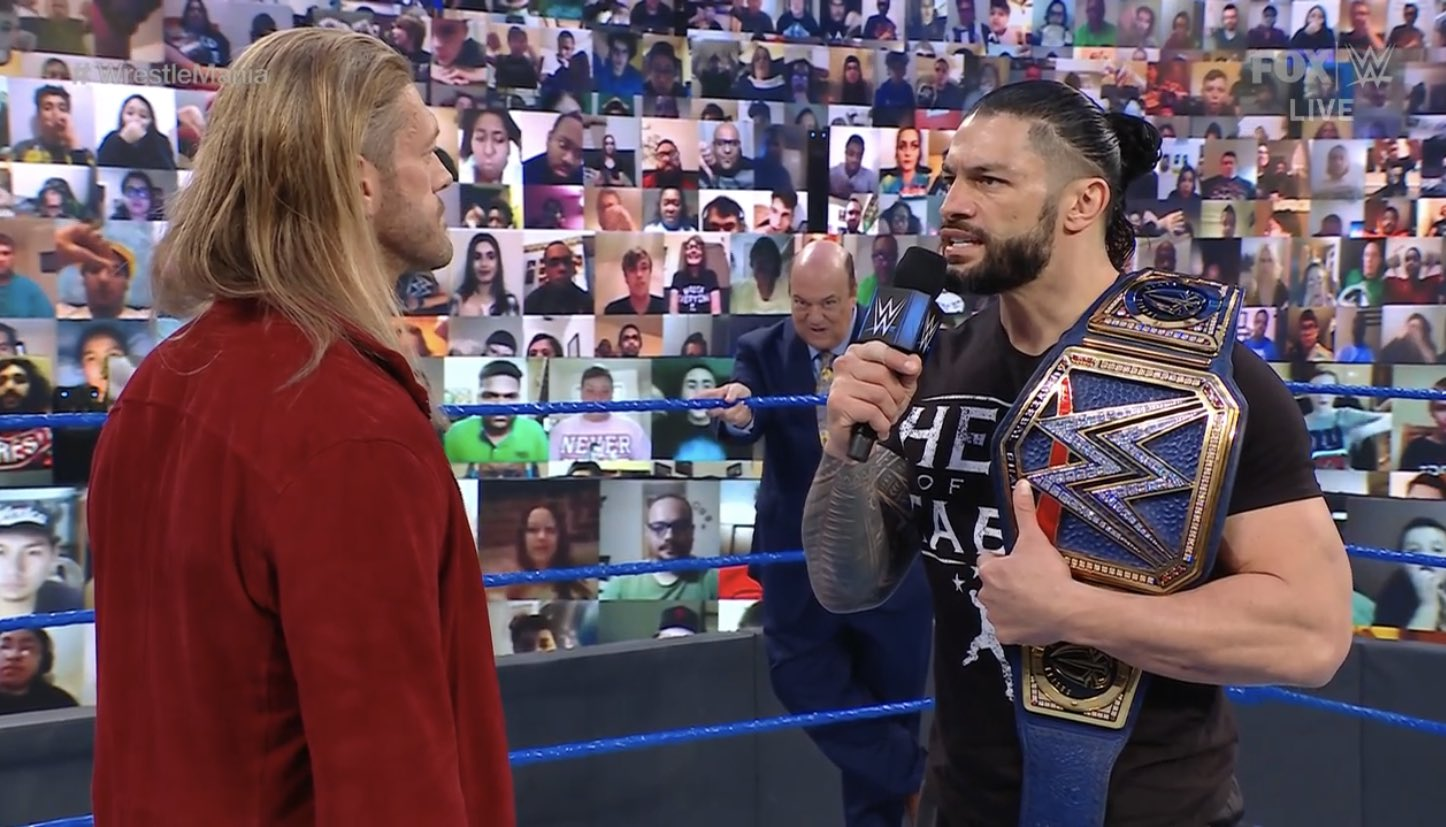 "Edge: ""Roman Reigns and I could have a great match"""