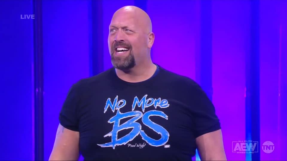 Paul Wight tiene su primera playera en AEW, deja atrás al Big Show | Superluchas