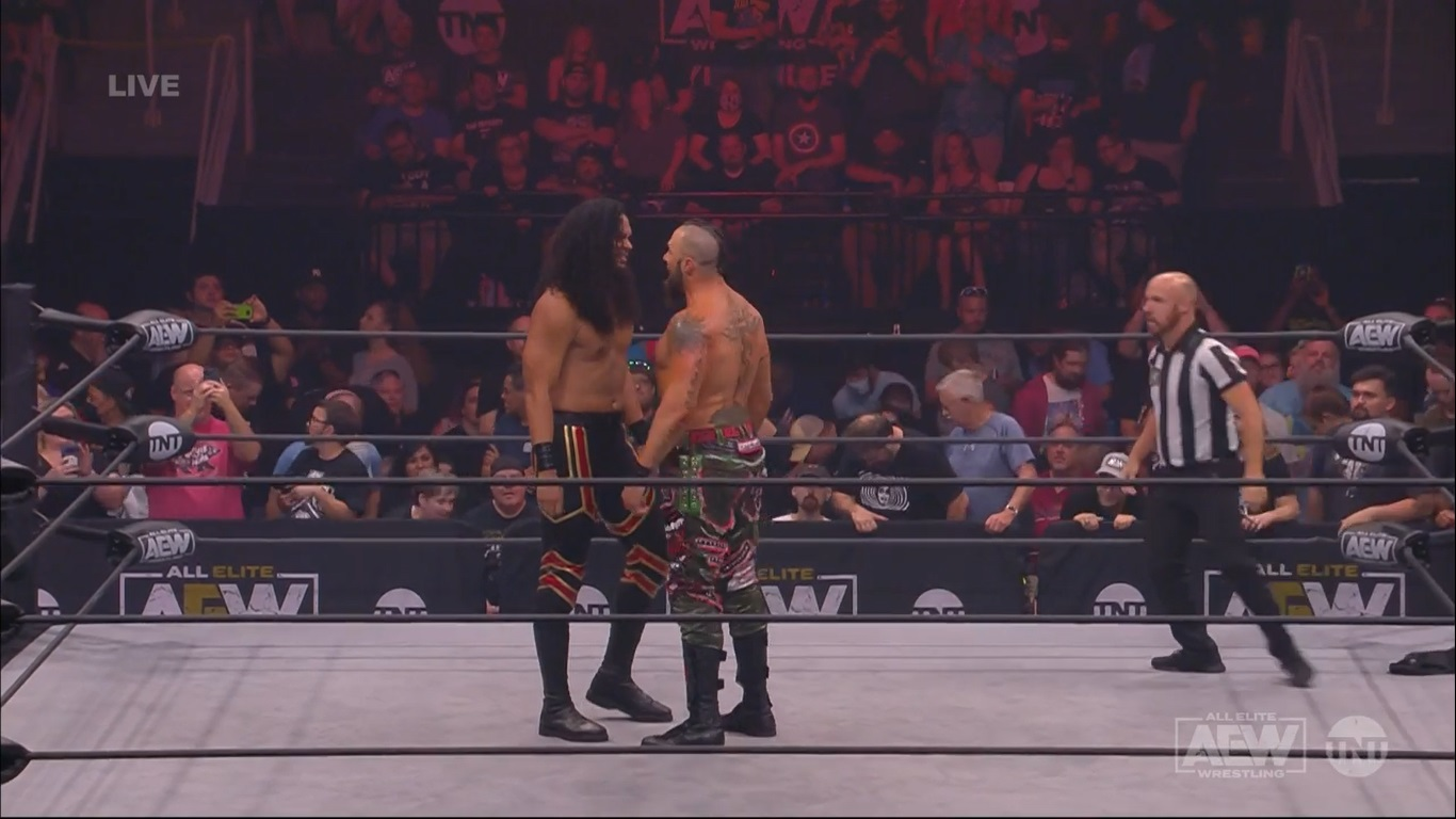 Lance Archer vs.Hikuleo - AEW Dynamite 28 de julio de 2021