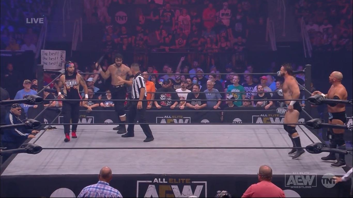 FTR vs.Santana y Ortiz - AEW 28 de julio de 2021