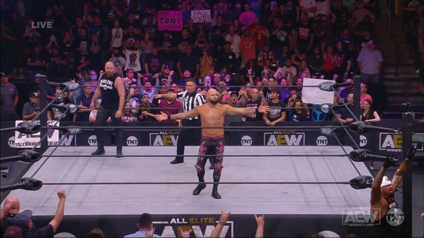 Jon Moxley vs. Karl Anderson - AEW Dynamite 14 de julio 2021