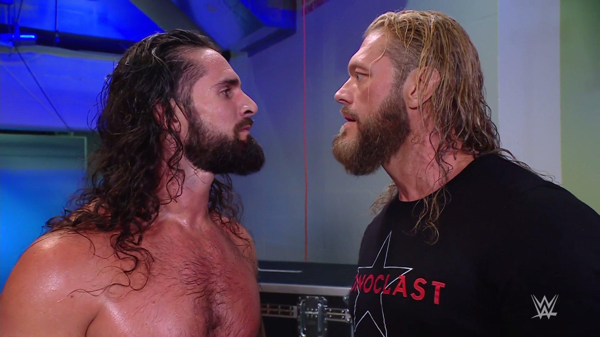 WWE continúa construyendo un futuro Edge vs. Seth Rollins