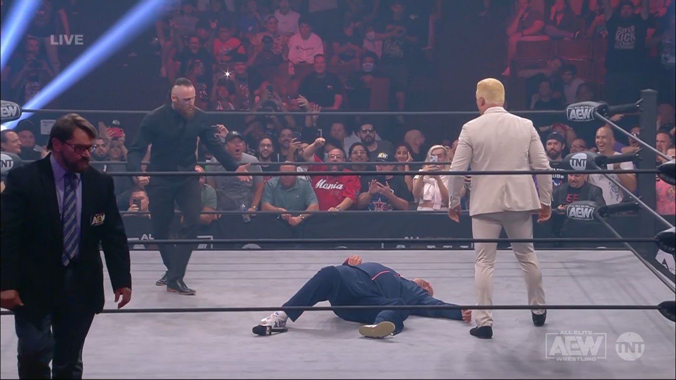 tommy end aew road rager