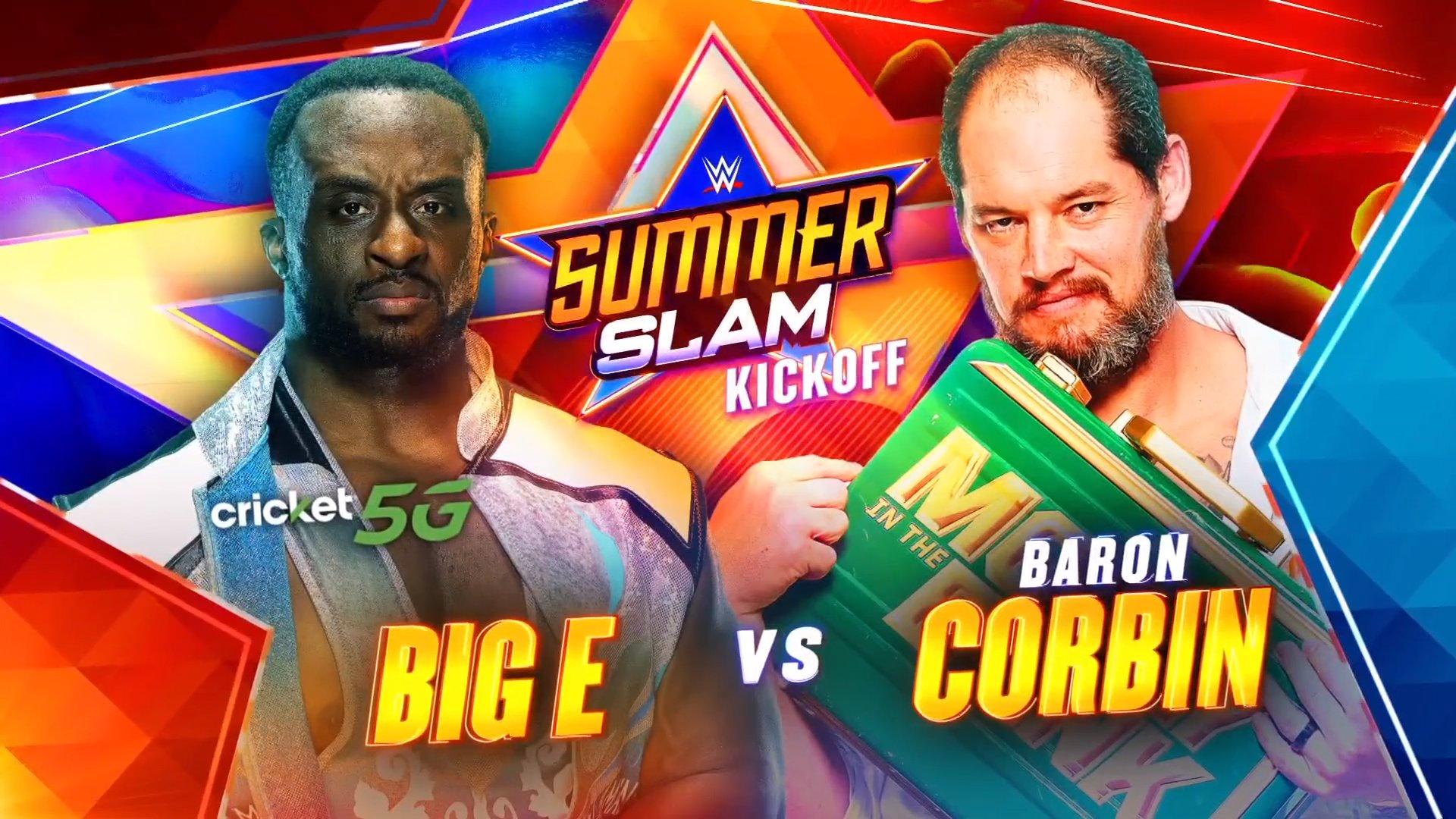 Big E beats Baron Corbin in the 2021 SummerSlam Kickoff | Superfights