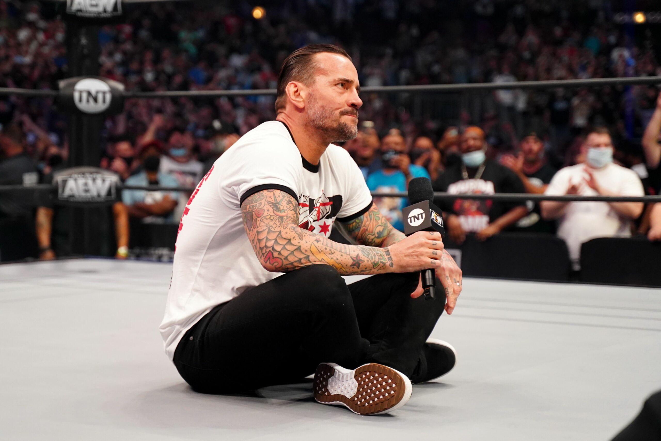 CM Punk en AEW Rampage The First Dance
