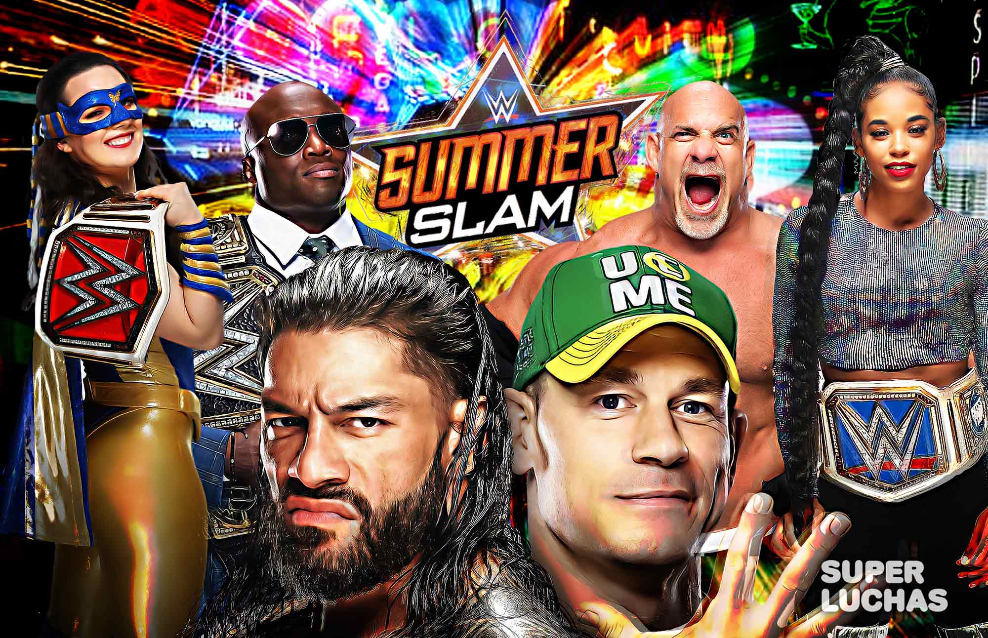 Coverage and results WWE SUMMERSLAM 2021