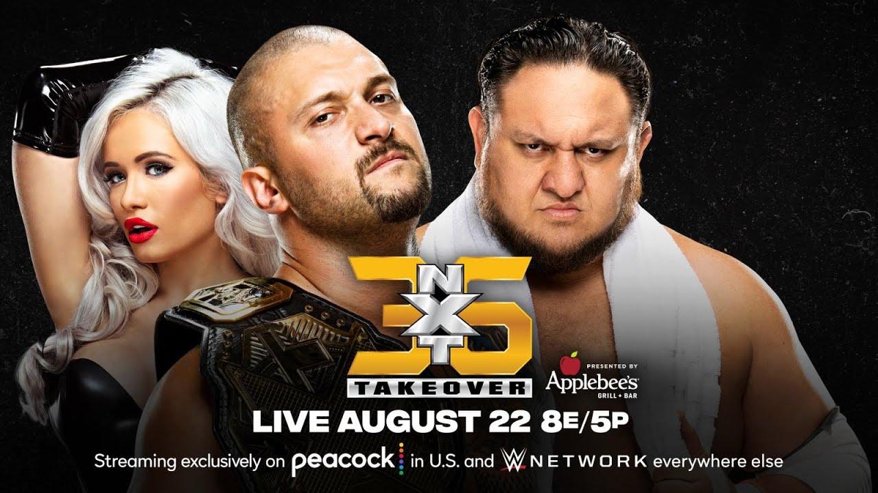 OD4VN6YR Karrion Kross con Scarlett vs. Samoa Joe en NXT TakeOver 36 WWE