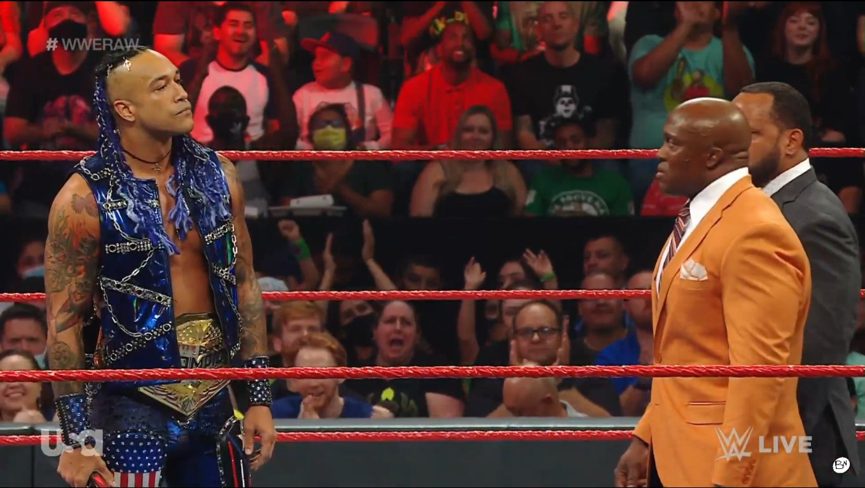 Damian Priest and Bobby Lashley - WWE Raw