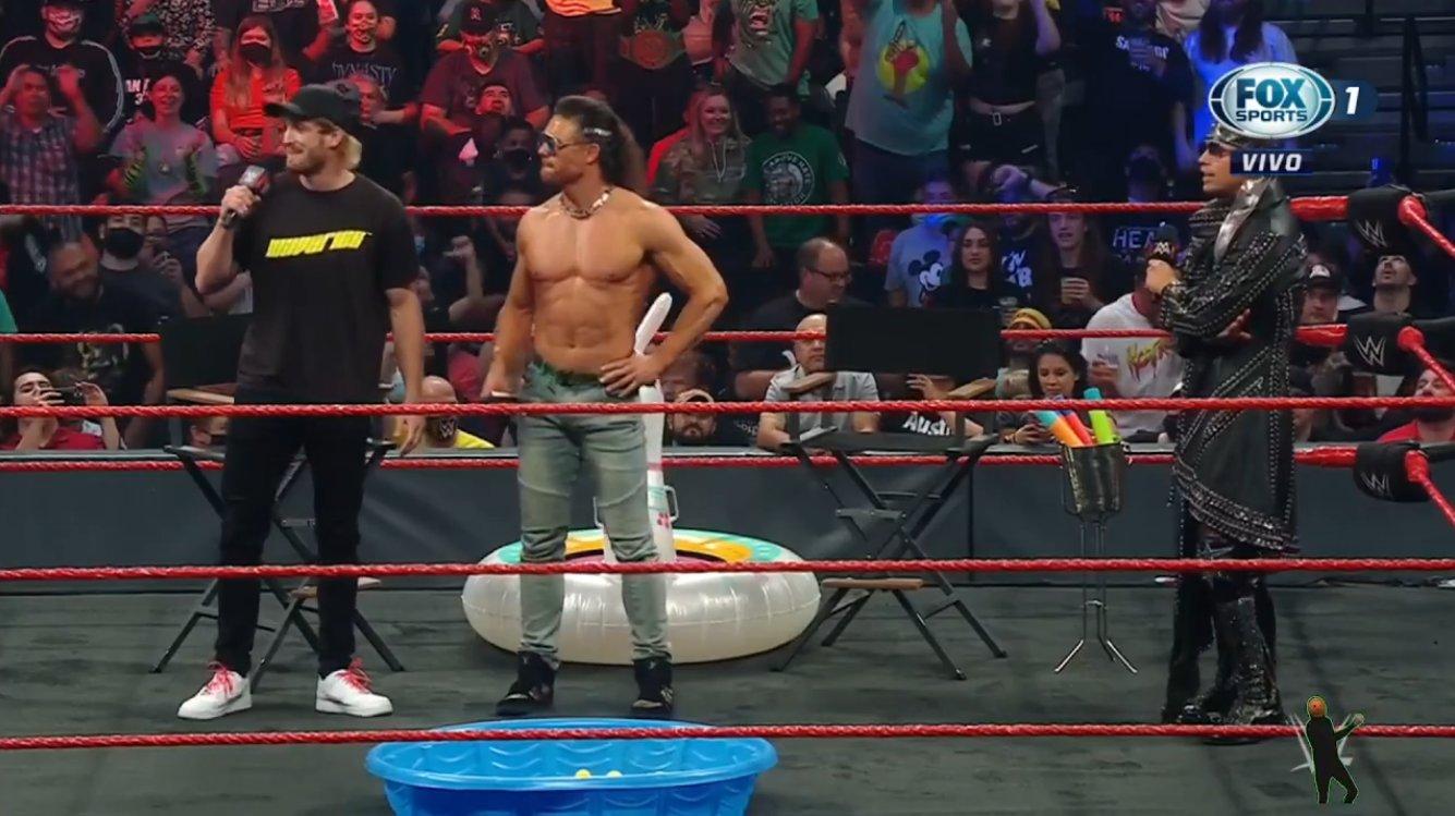 Logan Paul, John Morrison and The Miz - WWE Raw August 23, 2021