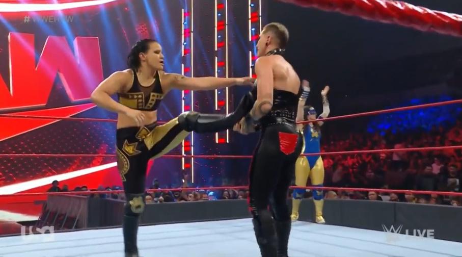 Raw: Nikki ASH and Rhea Ripley beat Shayna Baszler and Nia Jax