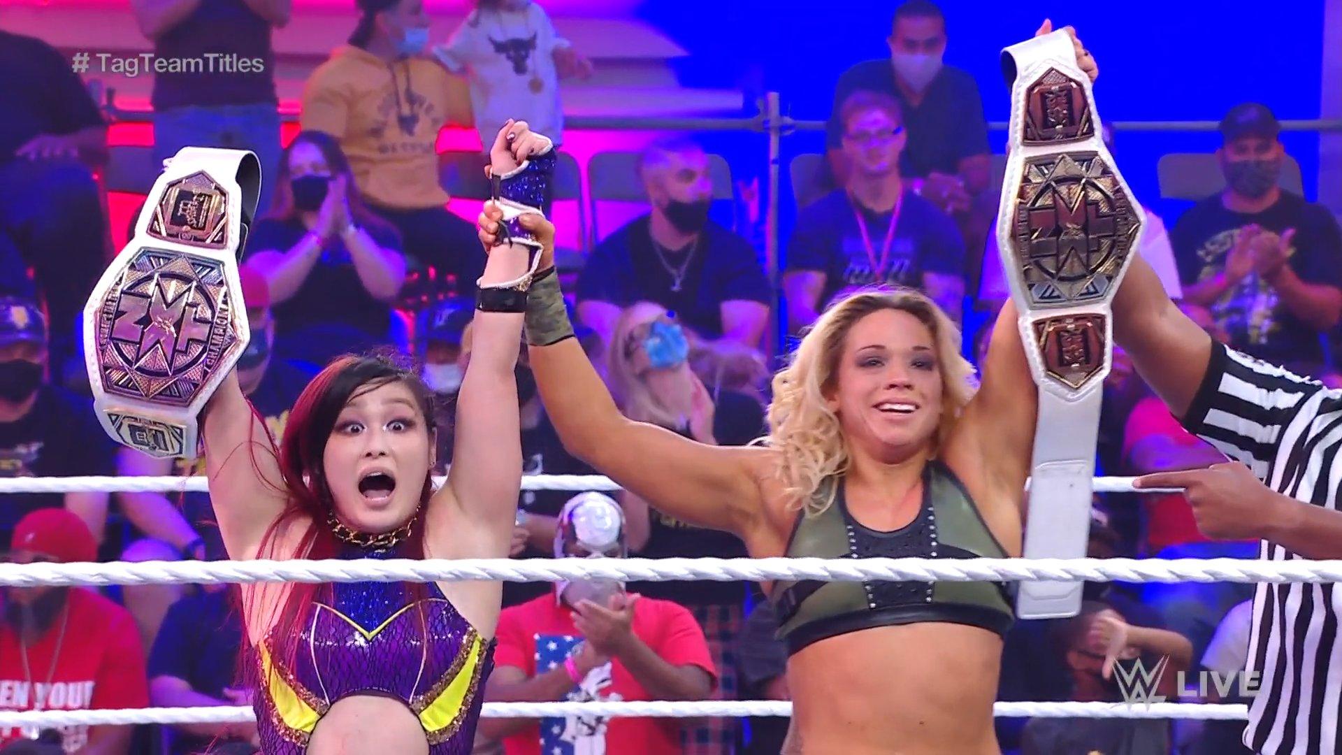 NXT 2.0: Io Shirai and Zoey Stark retain before Toxic Attraction