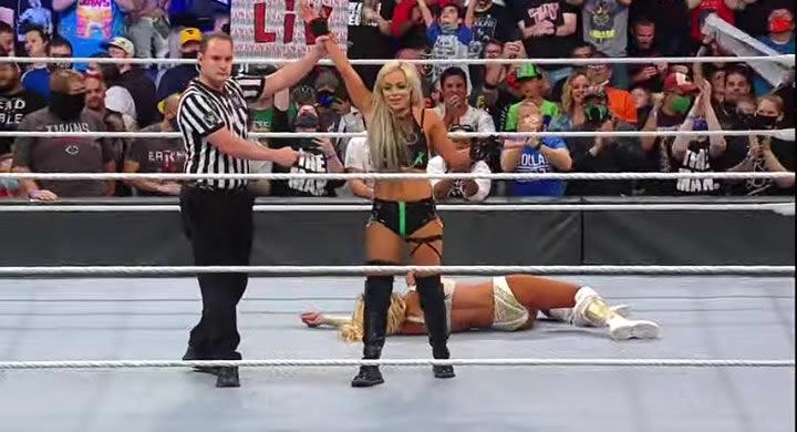 Liv Morgan and Carmella - WWE Extreme Rules 2021