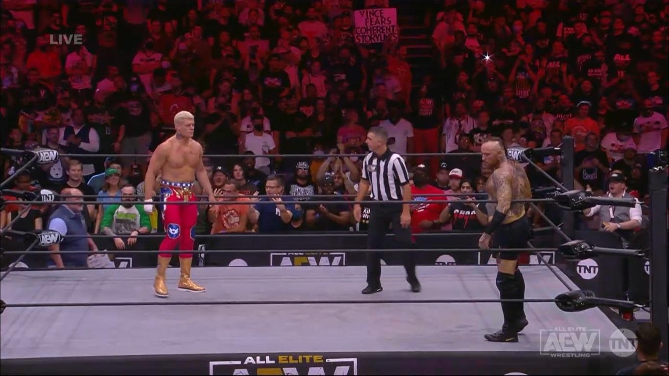 Cody Rhodes vs Malakai Black - AEW Dynamite September 22, 2021