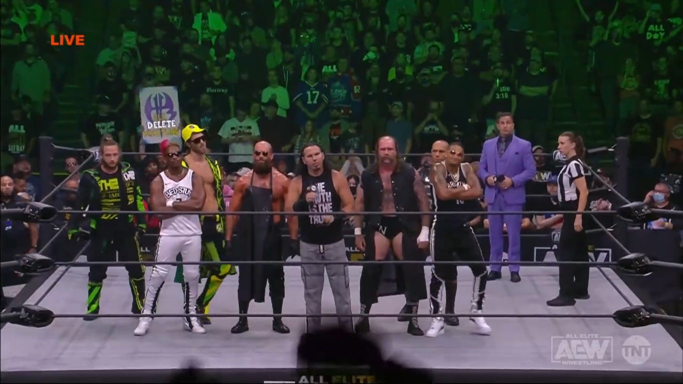 aew dynamite 29.09.2021 the hardy family office