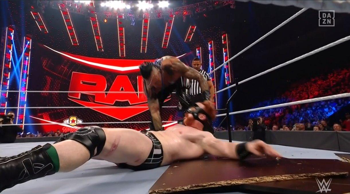 Sheamus & Damian Priest Raw Sep 27, 2021