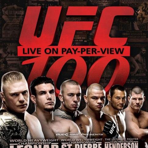 Números impresionantes de UFC 100: 1.72 millones de compras 5