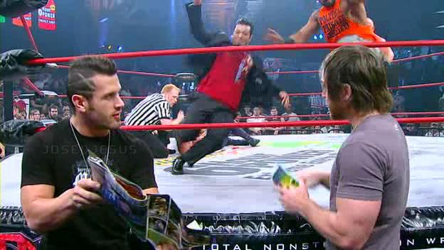 Chris Sabin apareció en el Performance Center de WWE 2