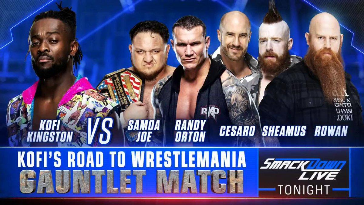 Resultados SmackDown Live (19-03-19) — Kofi Kingston, por la hazaña 20