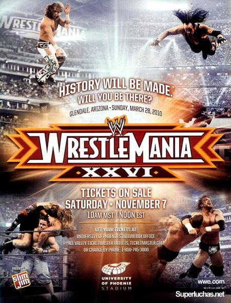 ¿WrestleMania 26 será golpeada por la pelea Pacquiao vs Mayweather? 1