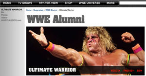 The Ultimate Warrior Alumni