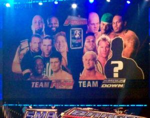 Smackdown vs RAW en Bragging Rights