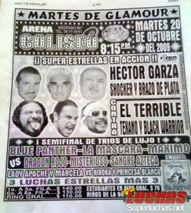 El Brazo de Plata (Súper Porky) regresa al CMLL, su primera presentación será en Guadalajara 1