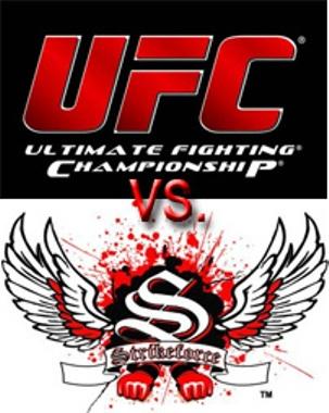 """""""UFC Main Events"""" competirá directamente vs Strikeforce: """"Fedor vs. Rogers"""" este 7 de noviembre 1"""
