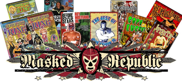 Masked Republic DVDs