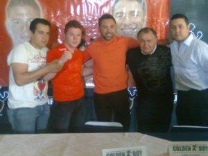 "Saúl ""el canelo"" Álvarez se une a Golden Boy Promotions. 9"