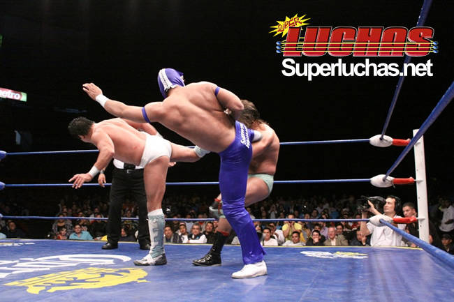CMLL - Arena México (29 enero 2010) - Negro Casas y La Máscara avanzan a la siguiente ronda 1
