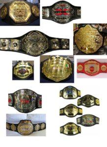¿Cuál es el mejor cinturón de campeonato del mundo? 1