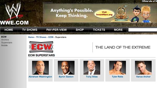 Aún quedan 5 luchadores en el roster de ECW 1