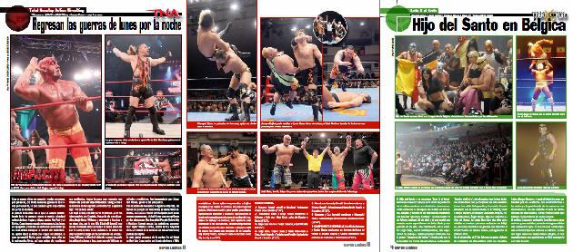Súper Luchas 355 (15 marzo 2010) - LA Park vs Sabu el 20 de marzo en Tula, Hidalgo - Busca tu cupón de descuento - LA Park regresa a AAA 2