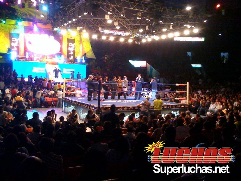 CMLL- Arena México (Cobertura y Resultados 19 marzo 2010) - Felino y Místico vs. Volador Jr. y Sombra por las máscaras 2